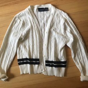 Button up boat sweater